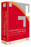 【送料無料】ルツェルン祝祭管弦楽団5周年セットアバド&ルツェルン祝祭管弦楽団、ブレンデル、ポリーニ(5DVD)【DVD】