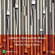 【送料無料】 Bach, Johann Sebastian バッハ / オルガン作品全集 マリ=クレール・アラン[197...