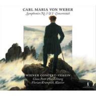 【送料無料】ウェーバー / 交響曲第1番、第2番、他 フロール&ウィーン・コンツェルト=フ...