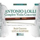 【送料無料】 ロッリ、アントニオ(1725-1802) / ヴァイオリン協奏曲全集 ファンフォーニ、レ...