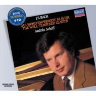 【送料無料】 Bach, Johann Sebastian バッハ / 平均律クラヴィーア曲集全曲 アンドラーシュ・...