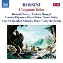 【送料無料】 Rossini ロッシーニ / 『幸運な間違い』全曲ゼッダ&ブルノ・チェコ室内ソロイスツ、レガッツォ、ターヴァー、他(2005ステレオ)(2CD) 輸入盤 【CD】