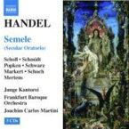 【送料無料】 Handel ヘンデル / オラトリオ『セメレ』 マルティーニ&フランクフルト・バロック・オーケストラ、E.ショル、ショッホ、他(3CD) 輸入盤 【CD】