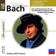 【送料無料】 Bach, Johann Sebastian バッハ / 鍵盤楽器のための作品集 アンドラーシュ・シフ(12CD) 輸入盤 【CD】