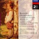 Rossini ロッシーニ / 序曲集(14曲)シャイー amp; ナショナル・フィル(2CD) 輸入盤 【CD】