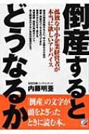 【送料無料】 倒産するとどうなるか アスカビジネス / 内藤明亜 【単行本】