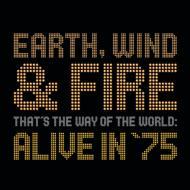 EarthWindAndFireアース・ウィンド&ファイアー/That'sTheWayOfTheWorldAliveIn'75輸入盤【CD】