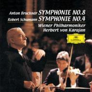 【送料無料】 Bruckner ブルックナー / ブルックナー:交響曲第8番、シューマン:交響曲第4番 ...