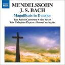 Mendelssohn メンデルスゾーン / メンデルスゾーン:マニフィカト、アヴェ・マリア、バッハ:マニフィカト、他キャリントン&イェール・コレギウム・プレイヤーズ 輸入盤 【CD】