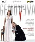 Schumann シューマン / 『ゲノフェーファ』全曲(日本語字幕付) クシェイ演出、アーノンクール&チューリヒ歌劇場、バンゼ、マーシー、他(2007 ステレオ) 【BLU-RAY DISC】