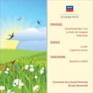 ルーセル(1869-1937)/Sym,3,4,LeFestinDeL'araignee,Etc:Ansermet/Sro+dukas,Chausson輸入盤【CD】
