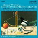 Rossini ロッシーニ / 序曲集ライナー&シカゴ交響楽団 輸入盤 【CD】