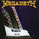 【送料無料】 Megadeth メガデス / Rust In Peace Live 輸入盤 【CD】