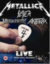Metallica/Slayer/Megadeth/Anthrax / Big Four: Live From Sofia Bulgaria 【DVD】