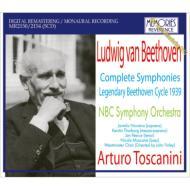 【送料無料】ベートーヴェン / 交響曲全集 トスカニーニ&NBC交響楽団(1939)(5CD) 輸入盤 ...