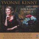 【送料無料】Strauss, R. シュトラウス / 4 Letzte Lieder, Orch.lieder: Y.kenny(S) Fritzsch / Queensland So 輸入盤 【CD】