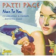【送料無料】 Patti Page パティペイジ / Near To You: Celebrating A Career.. Defining Class...