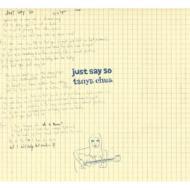 【送料無料】 タニア チュア 蔡健雅 / Just Say So 輸入盤 【CD】