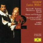 Verdi ベルディ / 『ルイザ・ミラー』 ドミンゴ(T)、マゼール / コヴェントガーデン・ロイヤル・オペラハウス管弦楽団 輸入盤 【CD】