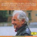Gershwin / Bernstein / ガーシュウィン:ラプソディ・イン・ブルー/バーンスタイン:シンフォニック・ レナード・バーンスタイン 【CD】