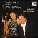 Dvorak ドボルザーク / Violin Concerto, Romance, Carnaval: Midori, Mehta / Nyp 【CD】