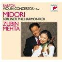 Bartok バルトーク / Violin Concerto.1, 2: Midori, Mehta / Bpo 【CD】