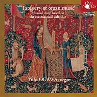 【送料無料】 教会音楽に基づく風のタペストリー-オルガン音楽の12ヶ月: 小川有紀 【CD】
