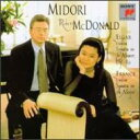 Franck フランク / Violin Sonata: Midori(Vn) R.mcdonald(P) +elgar: Sonata 輸入盤 【CD】
