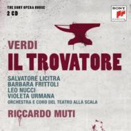 【送料無料】 Verdi ベルディ / 『トロヴァトーレ』全曲 ムーティ&スカラ座、リチートラ、フリットリ、他(2000 ステレオ)(2CD) 輸入盤 【CD】