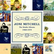 【送料無料】 Joni Mitchell ジョニミッチェル / Studio Albums 1968-1979 輸入盤 【CD】