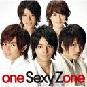 【送料無料】 Sexy Zone / one Sexy Zone 【通常盤 】 【CD】