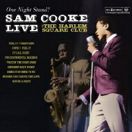 Sam Cooke サムクック / One Night Stand - Sam Cooke Live At The Harlem Square Club. 1963 ...