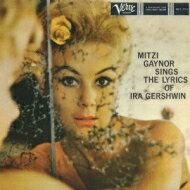 Mitzi Gaynor / Sings The Lyrics Of Ira Gershwin 【CD】