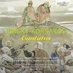 Rimsky-korsakov リムスキー=コルサコフ / カンタータ集 ジヴァ&モスクワ響、モスクワ・アカデミー合唱団 輸入盤 【CD】