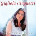 Gigliola Cinquetti ジリオラチンクエッティ / Perfect Best 【CD】