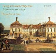 【送料無料】ワーゲンザイル(1715-1777)/QuartetsForLowStrings:PiccoloConcertoWien輸入盤【CD】