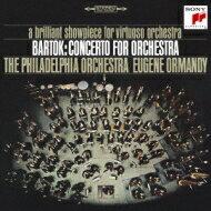 Bartokバルトーク/ConcertoForOrchestra,MiraculousMandarin,Etc:Ormandy/PhiladelphiaO+kodaly【CD】