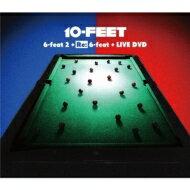 【送料無料】 10-FEET テンフィート / 6-feat 2 + Re: 6-feat + LIVE DVD 【初回限定盤LIVE DVD...