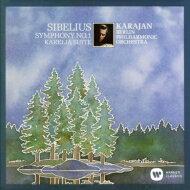 Sibeliusシベリウス/Sym,1,:Karajan/Bpo+kareliaSuite(1981)【CD】