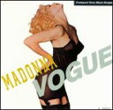 Madonna (マドンナ)のカラオケ人気曲ランキング第9位 シングル曲「Vogue」のジャケット写真。