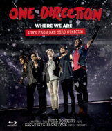 One Direction ワンダイレクション / 'ホエア・ウィー・アー' ライブ・フロム・サンシーロ・スタジアム 【BLU-RAY DISC】