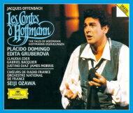 【送料無料】 Offenbach オッフェンバック / 『ホフマン物語』全曲 小澤征爾&フランス国立管弦楽団、ドミンゴ、グルベローヴァ、他(1986〜89 ステレオ)(2CD) 【BLU-SPEC CD 2】