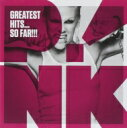 P!nk (Pink) ピンク / Greatest Hits...so Far 輸入盤 【CD】