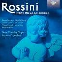 Rossini ロッシーニ / 小荘厳ミサ曲カッペレーリ&ニュー・チェンバー・シンガーズ、ボンチ(ハルモニウム)他(2CD) 輸入盤 【CD】