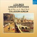 Bach JC バッハ / ロンドン交響曲集コレギウム・アウレウム 輸入盤 【CD】