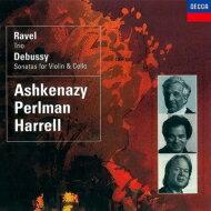 Ravelラベル/PianoTrio:Perlman(Vn)Harrell(Vc)Ashkenazy(P)+debussy:ViolinSonata,CelloSonata【SHM-CD】