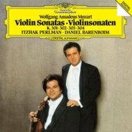 Mozartモーツァルト/ViolinSonata,25,26,27,28,:Perlman(Vn)Barenboim(P)【SHM-CD】
