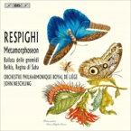 【送料無料】 Respighi レスピーギ / 『シバの女王ベルキス』、メタモルフォーゼ、『地と精のバラード』 ネシュリング&リエージュ・フィル 輸入盤 【SACD】