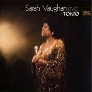 【送料無料】SarahVaughanサラボーン/LiveInTokyo-CompleteEdition輸入盤【CD】