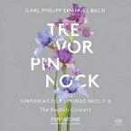 【送料無料】 Bach CPE バッハ / ハンブルク交響曲集 ピノック&イングリッシュ・コンサート 輸入盤 【SACD】